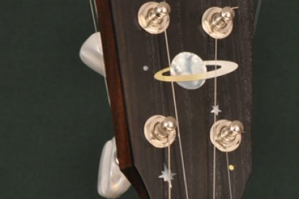 custom inlaid piccolo banjo