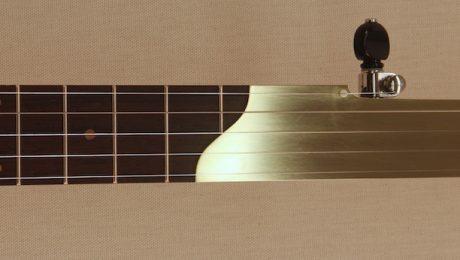 Custom Brass Fretless Banjo