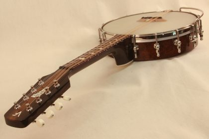 Custom Banjo Mandolin With Vermont Inlay