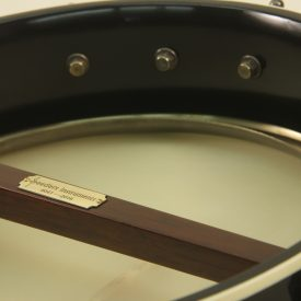 Custom Banjo with Cole Boat Heel and Dobson Tone Ring