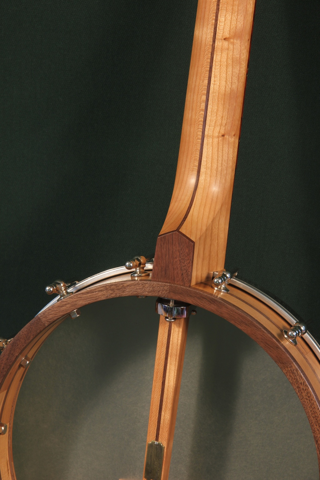 018 Brass And Cocobolo Fretless Banjo Seeders Instruments