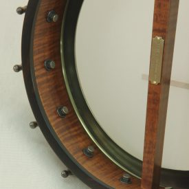Curly maple custom banjo with Dobson Special Tone Ring