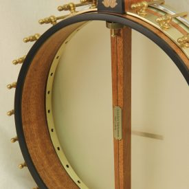 Custom Banjo with Raw Brass Hardware