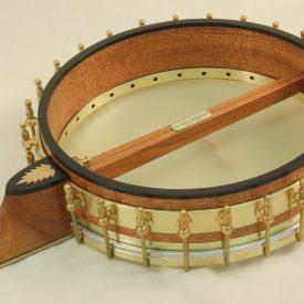 Birdseye Maple Tubaphone Custom Banjo