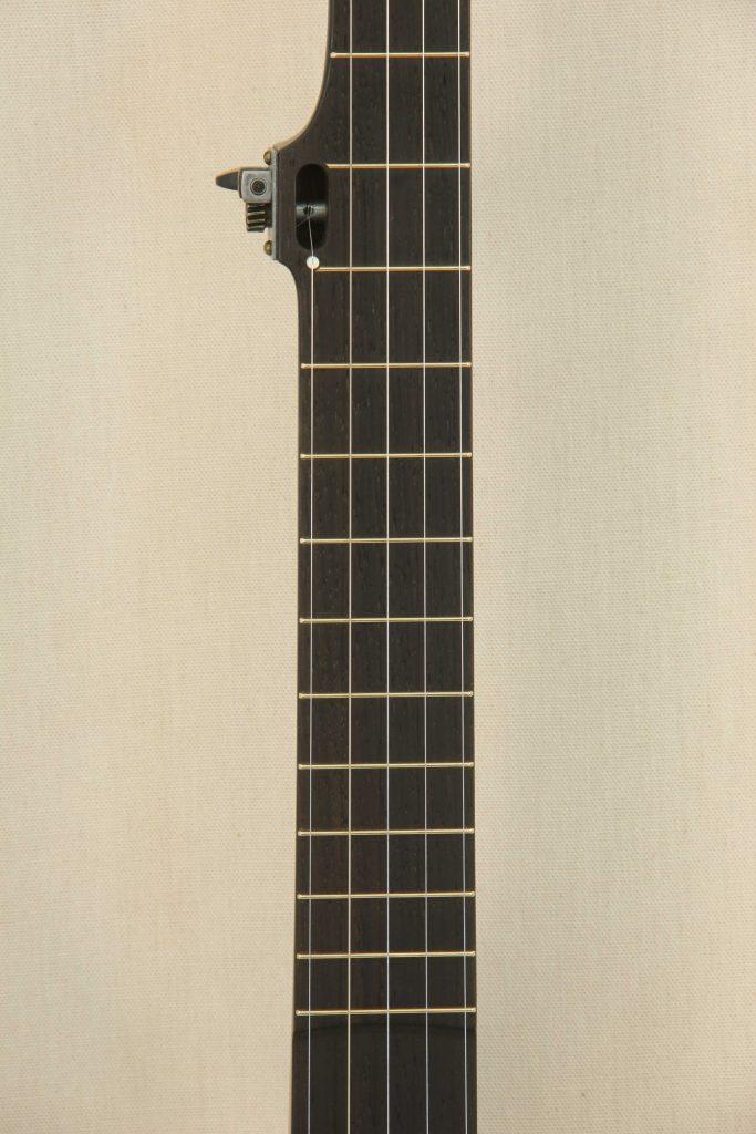 Custom Spunover Slothead Banjo Fretboard