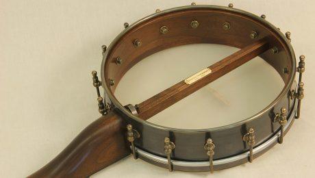 Brass Half Spunover Slothead Banjo