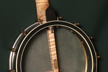 Custom Banjo with Curly Maple and Whyte Layde Tone Ring