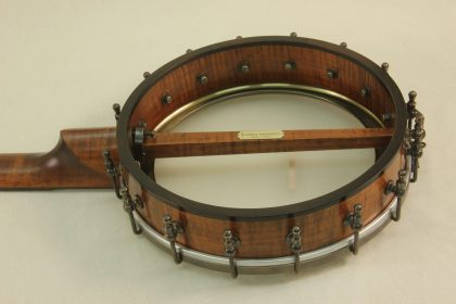 Custom Banjo with Curly Maple and Dobson Tone Ring