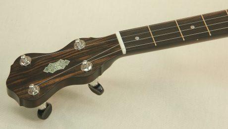 Walnut Dobson Banjo with Engraving
