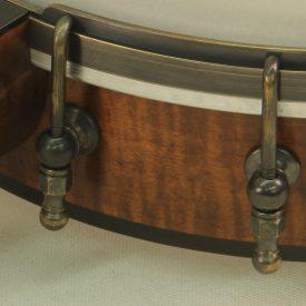 Antiqued Brass Banjo Hardware