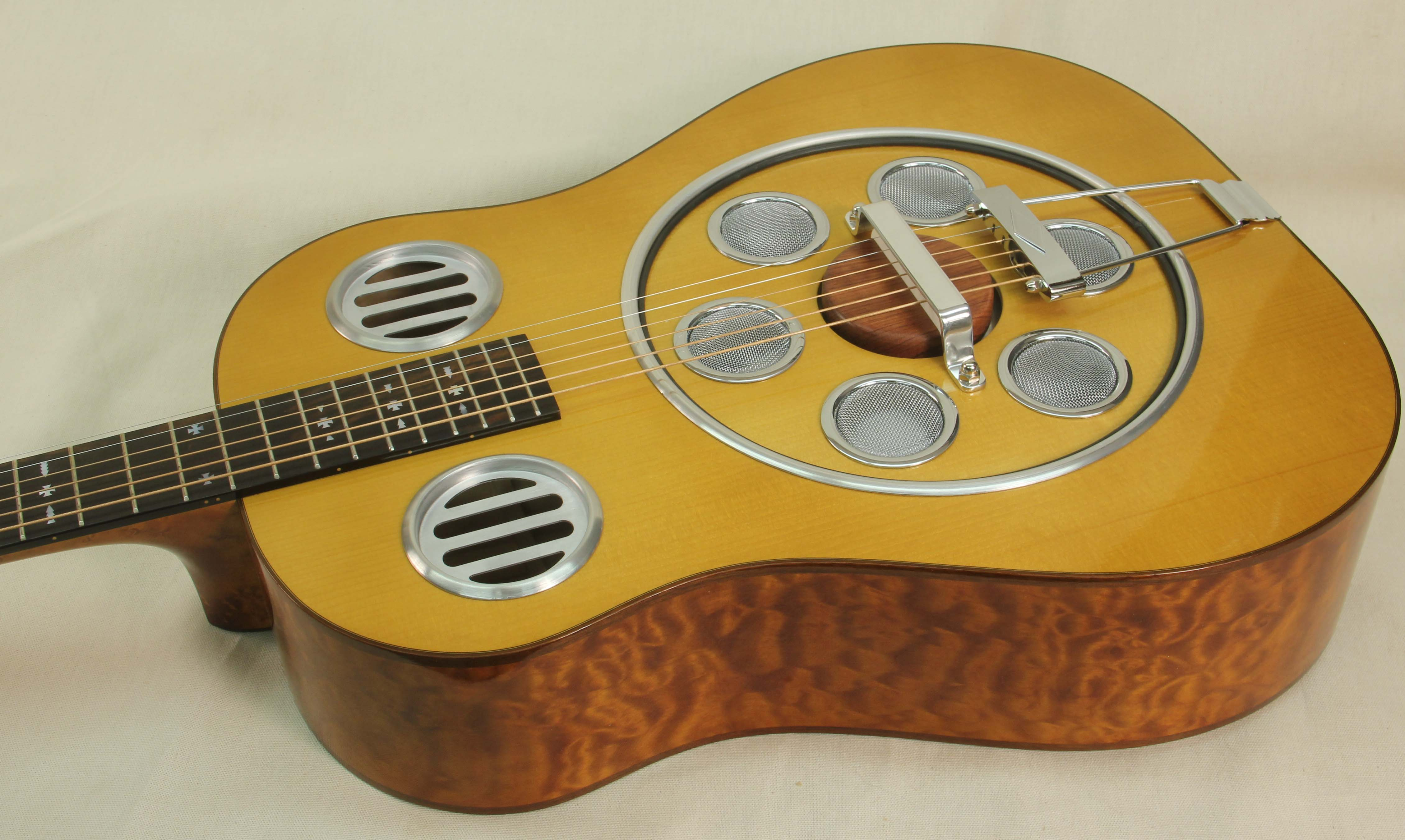 Del Vecchio Resonator Guitar with Adirondack Spruce