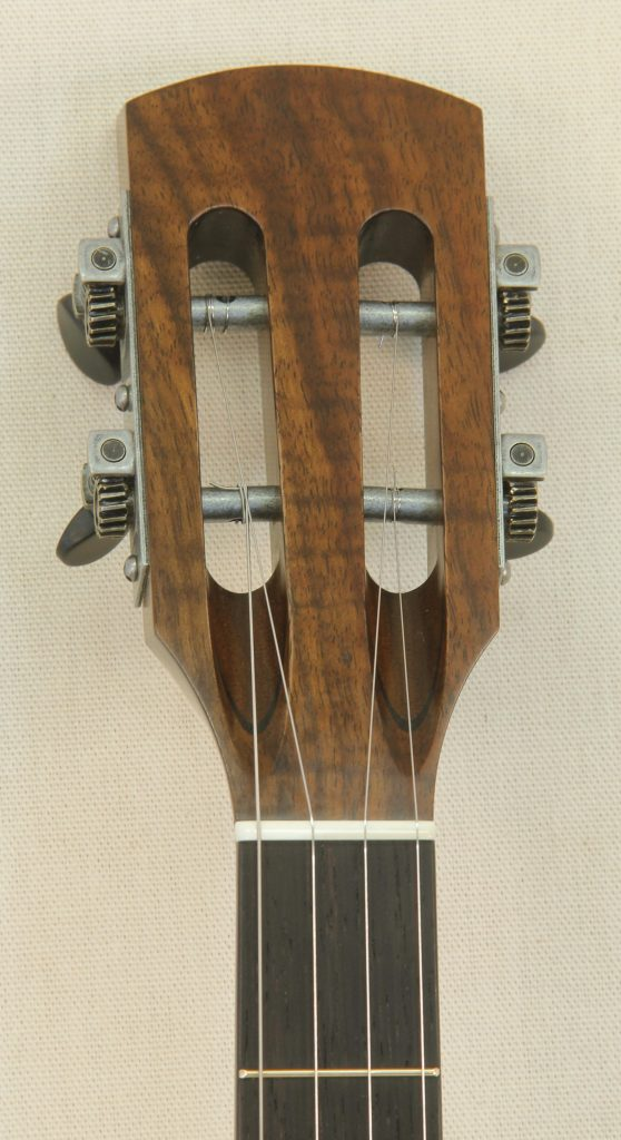Custom Spunover Slothead Banjo with Claro Walnut