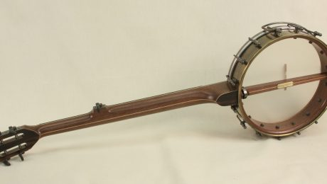 Brass Spun Over Slot Head Banjo