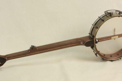 Brass Spun Over Slot Head Banjo