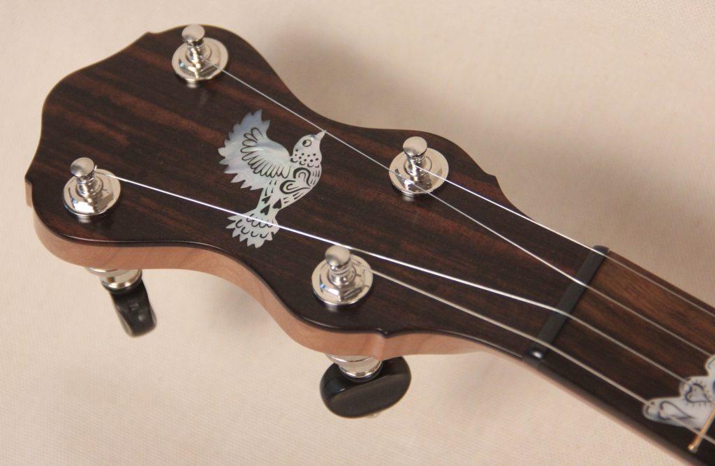 074 Hillary Hawke Eclipse Engraved Banjo