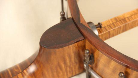 11-5/8 Curly Maple Banjo