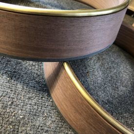 rolled brass tone ring
